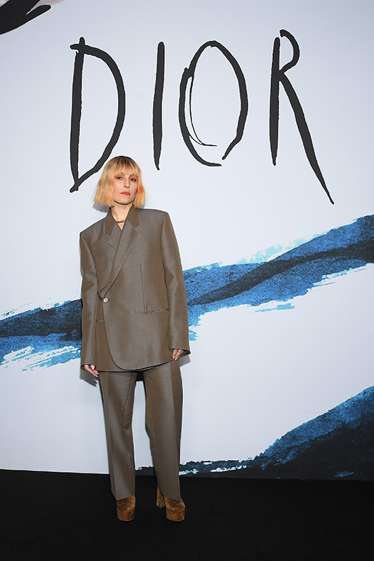 PARIS, FRANCE - JANUARY 18:  Noomi Rapace  attends the Dior Homme Menswear Fall/Winter 2019-2020 show as part of Paris Fashion Week on January 18, 2019 in Paris, France.  (Photo by Pascal Le Segretain/Getty Images) *** Local Caption *** Noomi Rapace